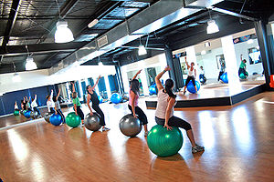 The death of the Fitball Class