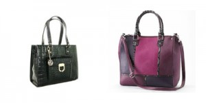 Some chic leather bags from 6pm and Kohl's