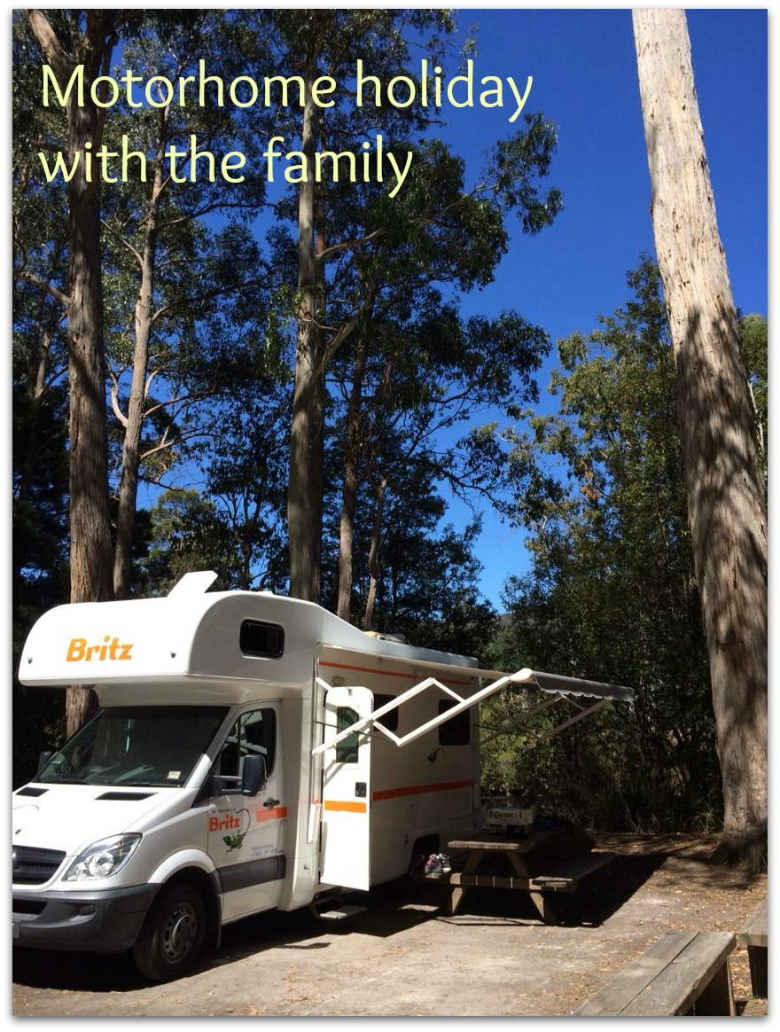 Motorhome holidays with the family love it or hate it