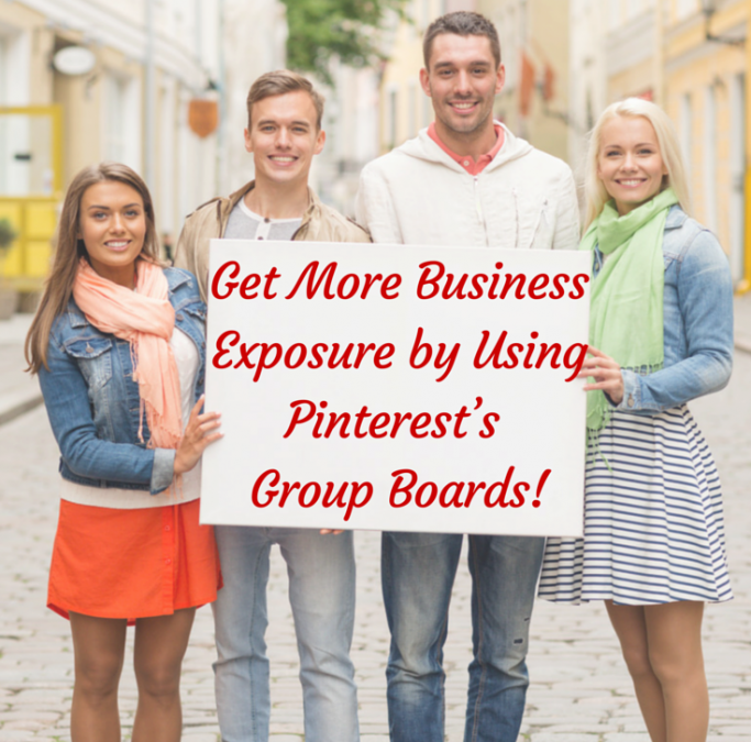 Get More Business Exposure by Using Pinterest's Group Boards!